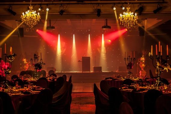 Event Lighting Hire - Fairmont Resort Blue Mountains