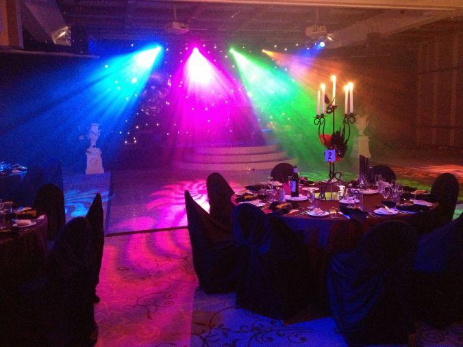 Lighting Hire - Awards Dinner - Fairmont Resort