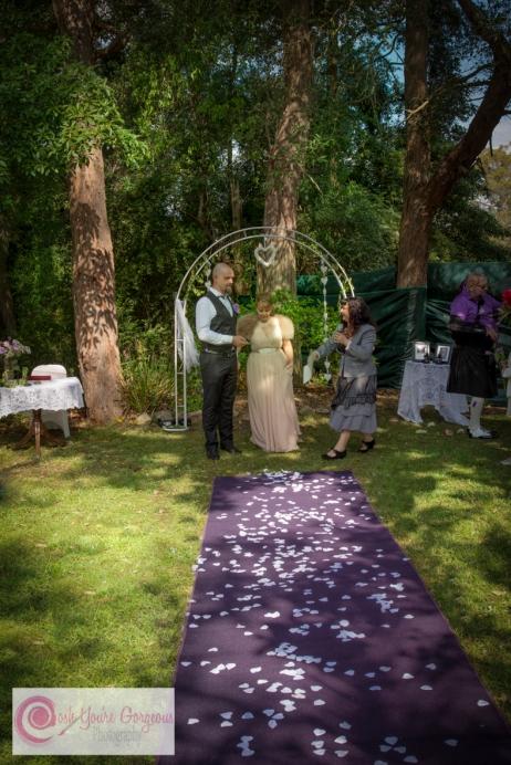 Mr & Mrs Purple Carpet