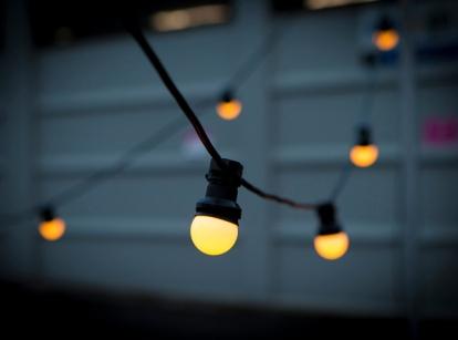 LED Festoon Globe