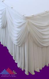 Wedding Table Flounce
