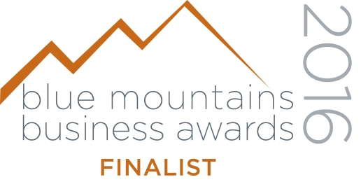 Blue Mountains Business Awards Finalist 2016