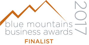 Blue Mountains business awards 2017 Finalist